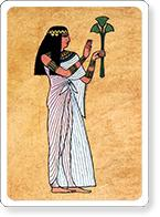 Ancient Egyptian Priestess
